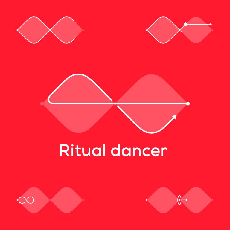 Ritual dancer