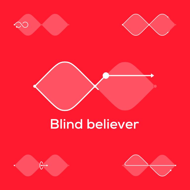 Blind believer