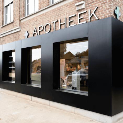 gevel apotheek renovatie