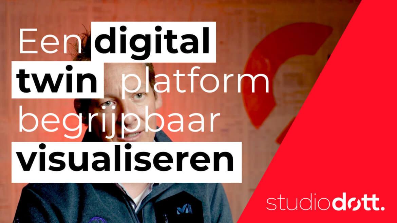 Een digital twin software platform begrijpbaar visualiseren voor Teddda