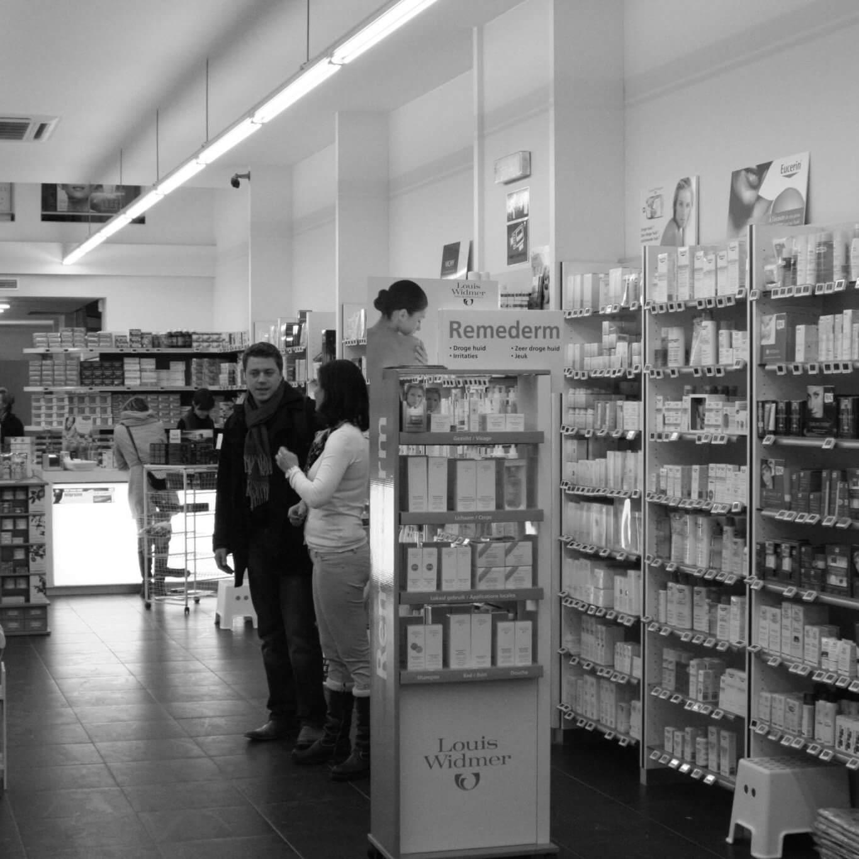 Vroegere apotheek keyserlei