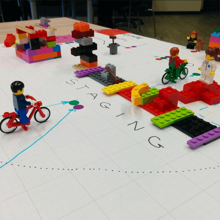 #Service Designer Lego