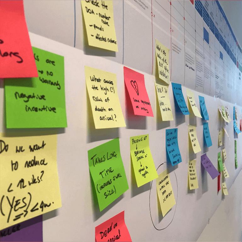 #Service Designer Post-its